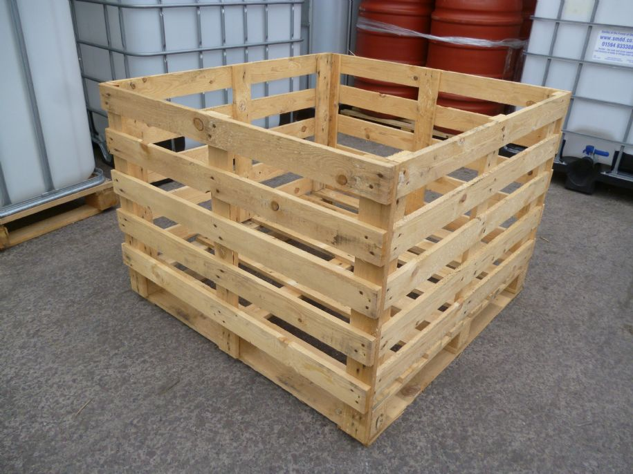 68cm High Wooden Crate - Fully Assembled